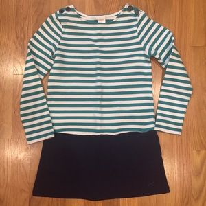 Gymboree Striped/Solid Dress size 6